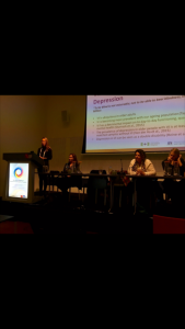 Dr Sturrock presenting at the WCBCT 2016 Conference